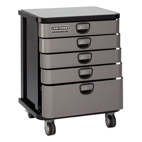 craftsman professional cabinet saw 5 drawer platinum mobile cabinet get more tool storage