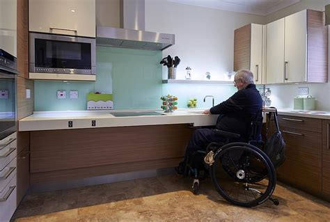 wheelchair accessible kitchen design milan design week 2015 gives a nod to disabled kitchens 1244
