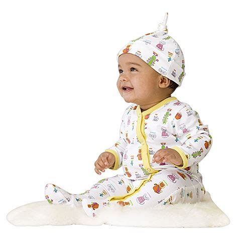Tiny Tillia Footed Coverall + Hat Be the first to write a ...