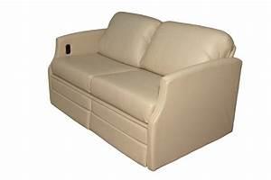 Flexsteel 4615 Sleeper Sofa W Dual Footrests Glastop Inc
