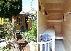 81 besten eine sauna fur den garten bilder auf pinterest for Französischer balkon mit kleine sauna für den garten