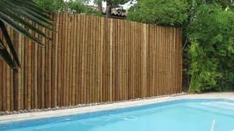 Comment Fabriquer Une Le En Bambou by Installer Une Barri 232 Re De Jardin En Bambou