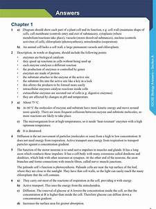 Edexcel Igcse Biology Answers