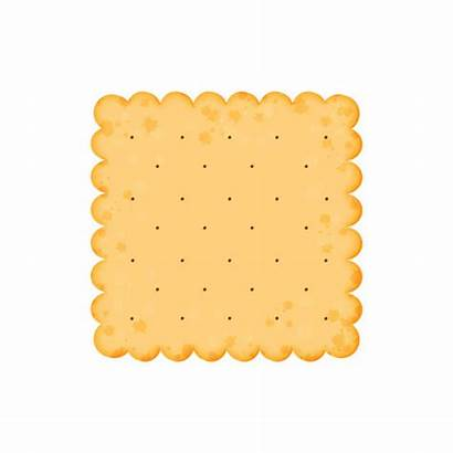 Vector Crackers Cracker Cheese Square Clip Cookie