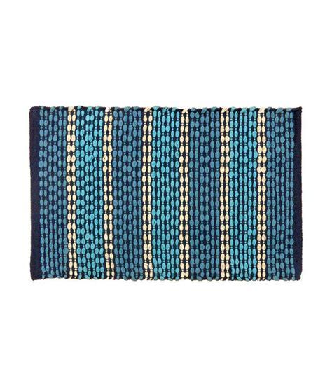 Cotton Door Mat by Elysia Blue Cotton Door Mat