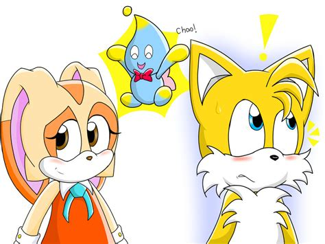 Tails Y Cream By Drazzy-the-dragoness On Deviantart