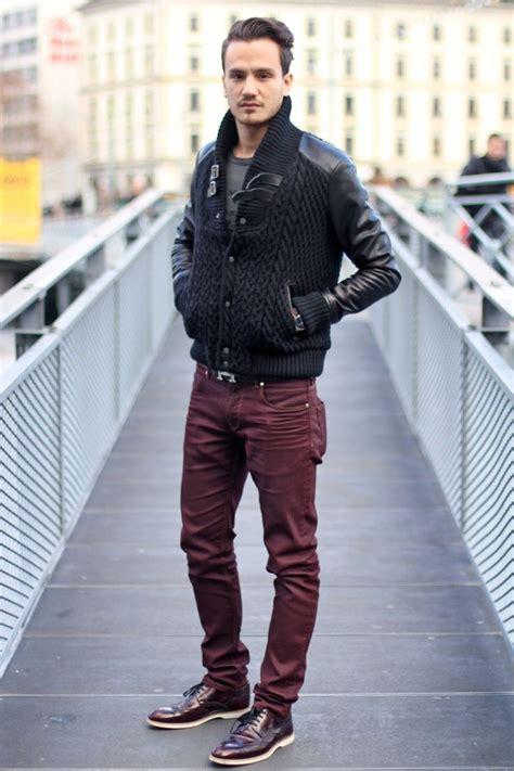 1000+ ideas about Burgundy Pants Men on Pinterest | Preppy mens fashion Menu0026#39;s style and Gq mens ...