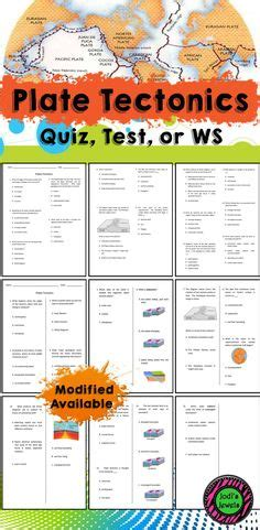 Divergent, subduction, and lateral slipping. Exploring Plate Tectonics Worksheet | Lesson Planet | 6th ...