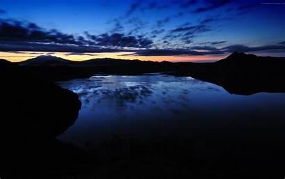Lake Landscape 4k Reflection Nature Sunset Tree