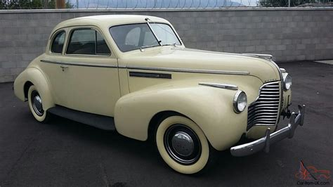 1940 Buick Special by 1940 Buick Special Sports Coupe No Reserve In Vic