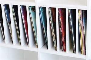 Regal Für Schallplatten : ein postfach macht dein ikea kallax zu einem plattenregal hacks pinterest regal m bel und ~ Orissabook.com Haus und Dekorationen