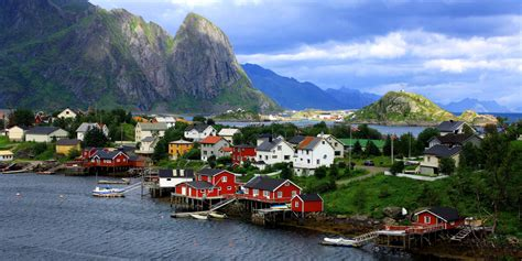 Quaint Fishing Village Reine Will Make You Want To Run Off