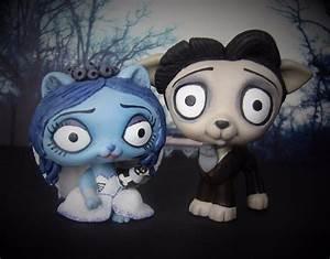 Corpse Bride Emily & Victor Littlest Pet Shop OOAK Custom ...