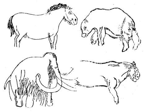 Prehistoric Cave Drawing At Getdrawings.com