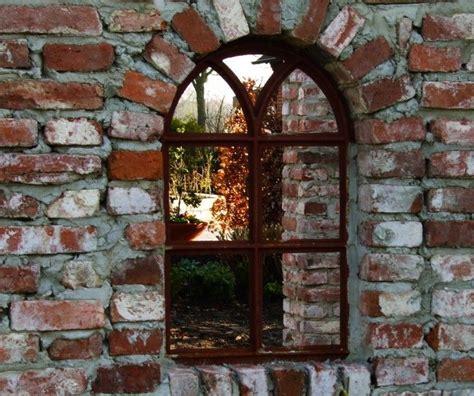 tuinmuur decoratie tags spiegel raam decoratie antiek raam en spiegel