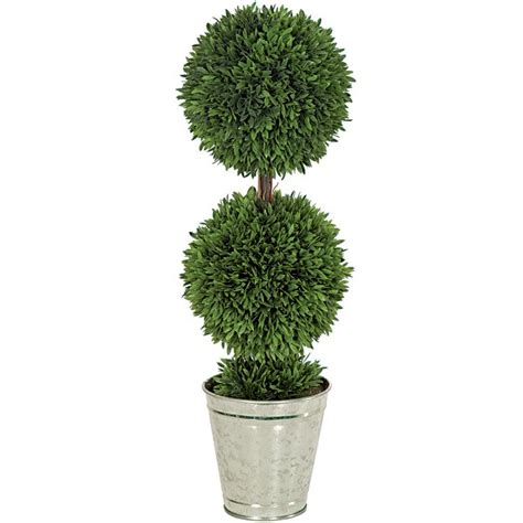 artificial topiary trees outdoor topiary 24 inch potted podocarpus ball topiary