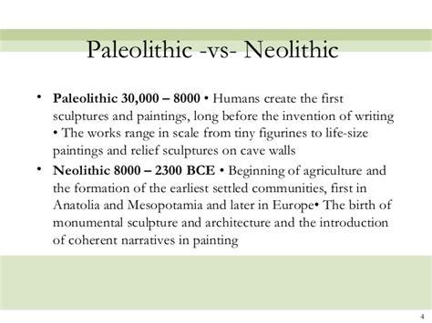 paleolithic  neolithic statementwriterwebfccom