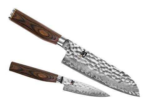 Shun Premier Santoku Knife Starter Set, 2 piece   Cutlery