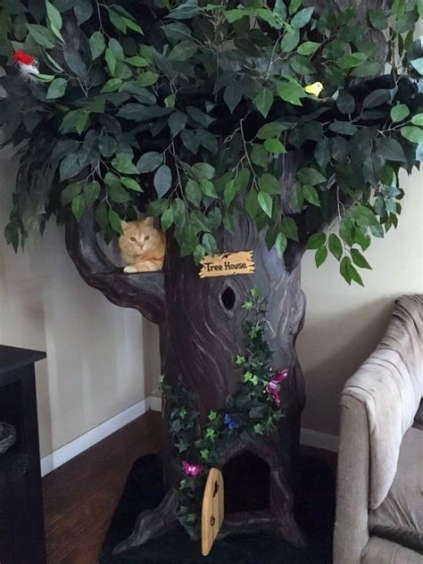 fantasy cat trees fantasy forest cat trees