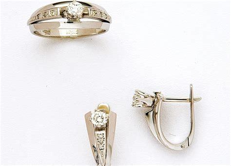 Кольца из белого золота (101 фото): широкие.