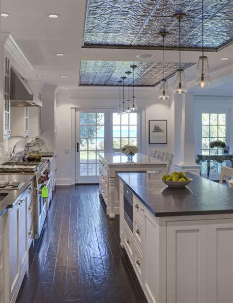 Kitchen ceiling ideas became one of the essential things to decor. Trend Alert: How to Decorate Your Home with Ceiling Tiles ...