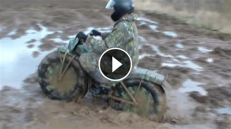 powerful russian   terrain portable motorcycle