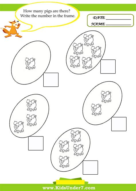 Kids Maths Worksheets Chapter 1 Worksheet Mogenk Paper Works
