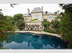 28,000 Square Foot Waterfront French Chateau In Grosse