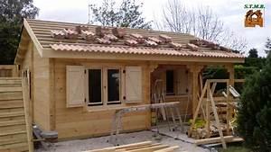 Chalet Bois Kit : chalet de loisir ou d 39 habitation bordeaux 42 m2 sans rt2012 ~ Carolinahurricanesstore.com Idées de Décoration