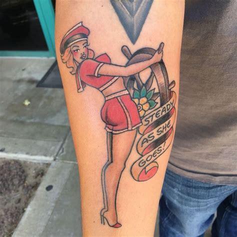 1001+ Idées  Tattoo Pin Up  Le Charme à L'ancienne En 43
