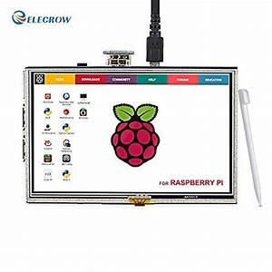 Elecrow Rpa05010r Hdmi Display Monitor  Com Imagens