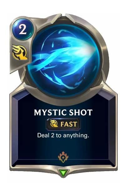 Lor Card Mystic Runeterra Legends Shot Deck