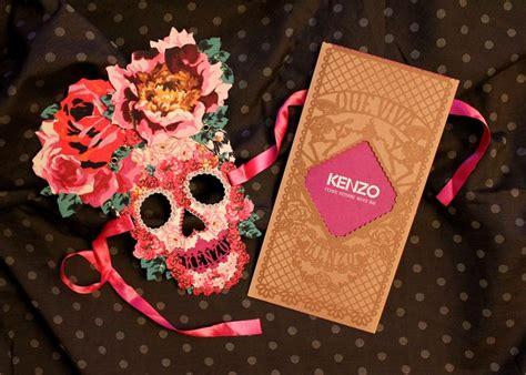 sugar skull wall kenzo dia de los muertos invite packaged goods