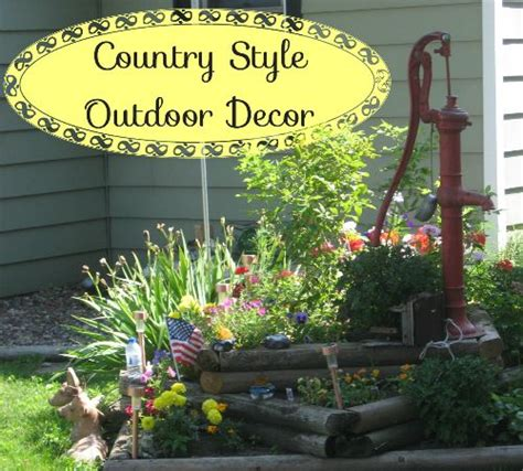 Country Style Outdoor Decorating Ideas Outdoors Decor
