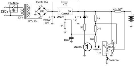 Scheme Diagram Electric Car Battery Charger