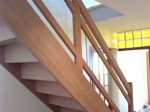 Rampe Pour Escalier : escalier rampe en verre ~ Melissatoandfro.com Idées de Décoration