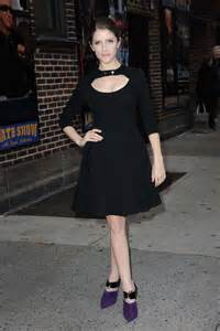 Anna Kendrick Late Show with David Letterman