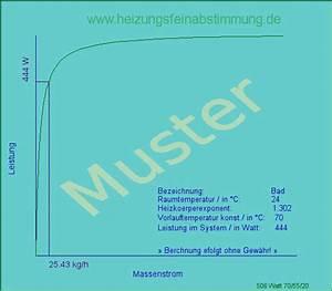 Heizkörperleistung Berechnen : heizk rperdiagramm leistung massenstrom muster ~ Themetempest.com Abrechnung