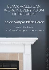 Top Paint Colors for Black Walls + Painting a Black Wall