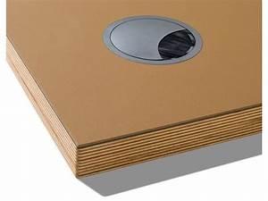 Linoleum Für Tischplatte : kabeldurchlass f linoleumbeschichtete tischplatte kaufen modulor ~ Markanthonyermac.com Haus und Dekorationen