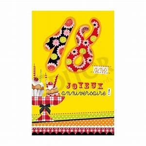 Idée Cadeau Anniversaire 18 Ans : carte joyeux anniversaire 18 ans cadeau maestro ~ Melissatoandfro.com Idées de Décoration