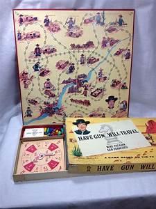 Tv Board Vintage : have gun will travel tv show board game vintage 50 39 s complete parkerbrothers boardgames ~ Eleganceandgraceweddings.com Haus und Dekorationen