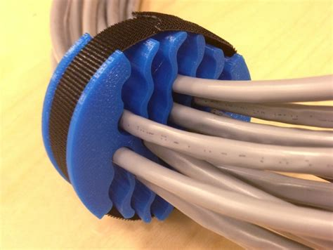 chambre am駭agement cable organizer by tjmck thingiverse