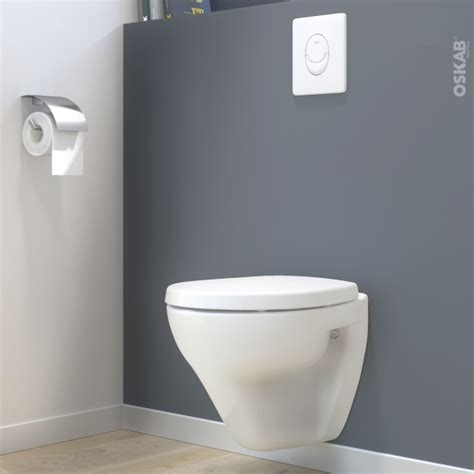pack wc suspendu b 226 ti mural grohe cuvette zapa plaque blanche oskab
