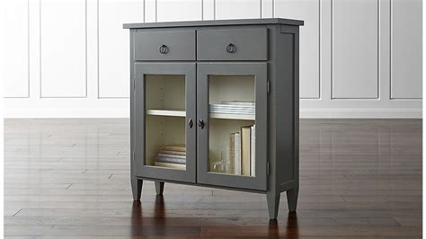 entry way cabinet stretto grey entryway cabinet crate and barrel