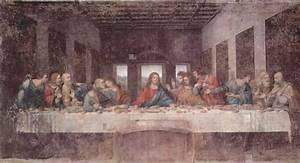 The Last Supper, 1495 - Leonardo da Vinci - WikiArt.org