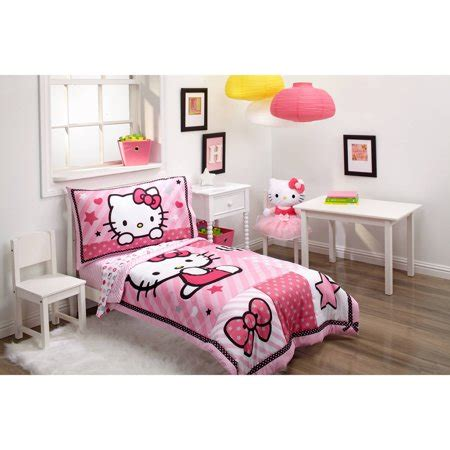 Hello Bedroom Set At Walmart by Hello Sweetheart 3 Toddler Bedding Set With