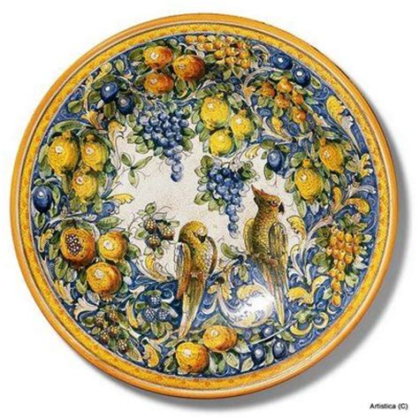 tuscan decorative wall plates 442 curated italian pottery ceramics ideas by nebound5