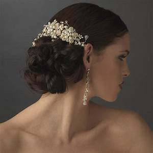 A Guide To Bridal Combs Wedding Clips And Barrettes