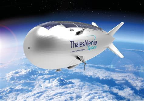 Space News To Boost Stratobus Project Thales Alenia Space Takes